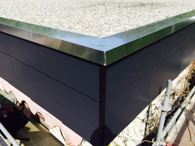 flachdachsanierung d mmung der fassade in t bingen dachdecker stuttgart ludwigsburg karl. Black Bedroom Furniture Sets. Home Design Ideas